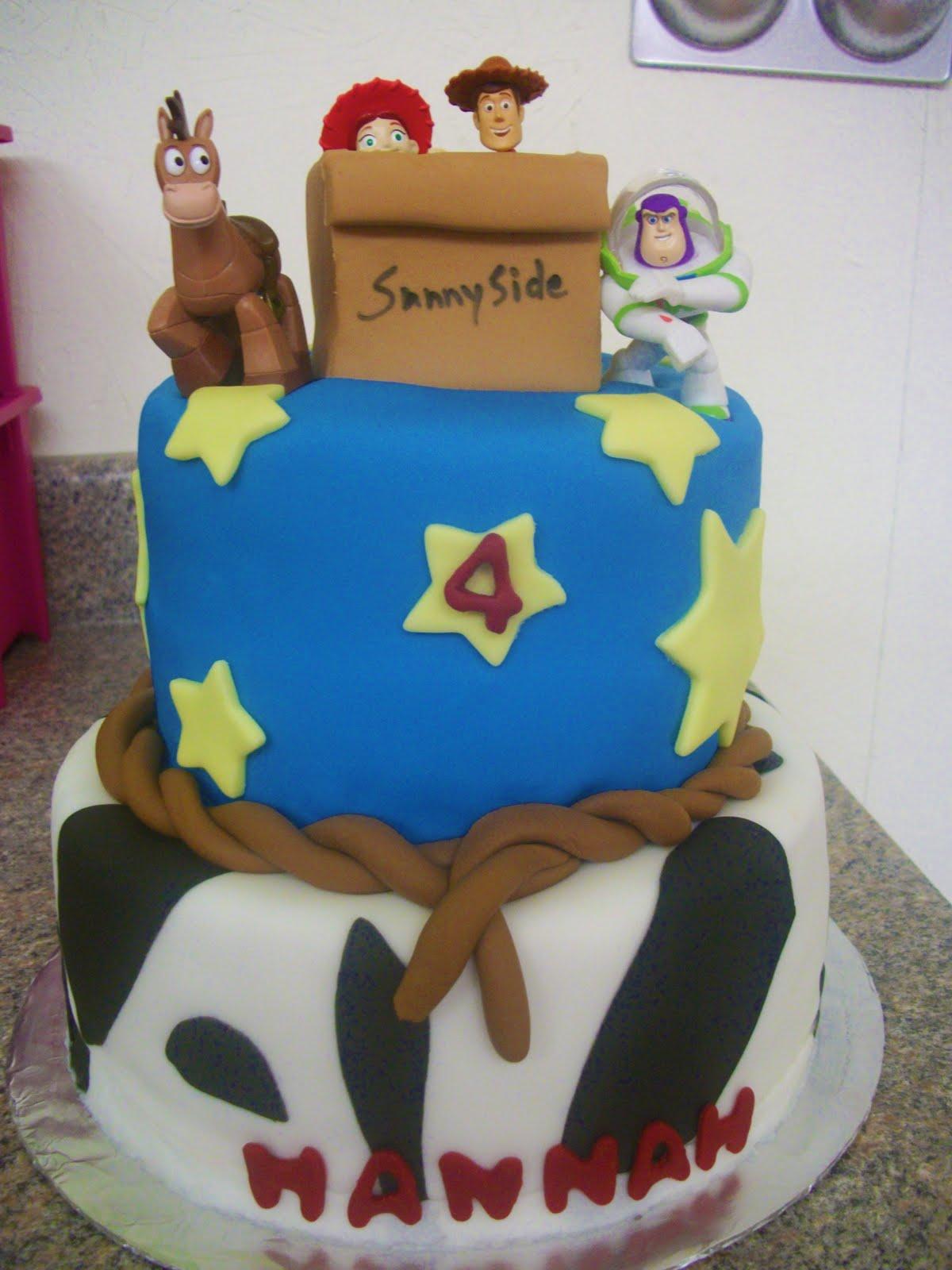 Tasty Cakes Toy Story Cake