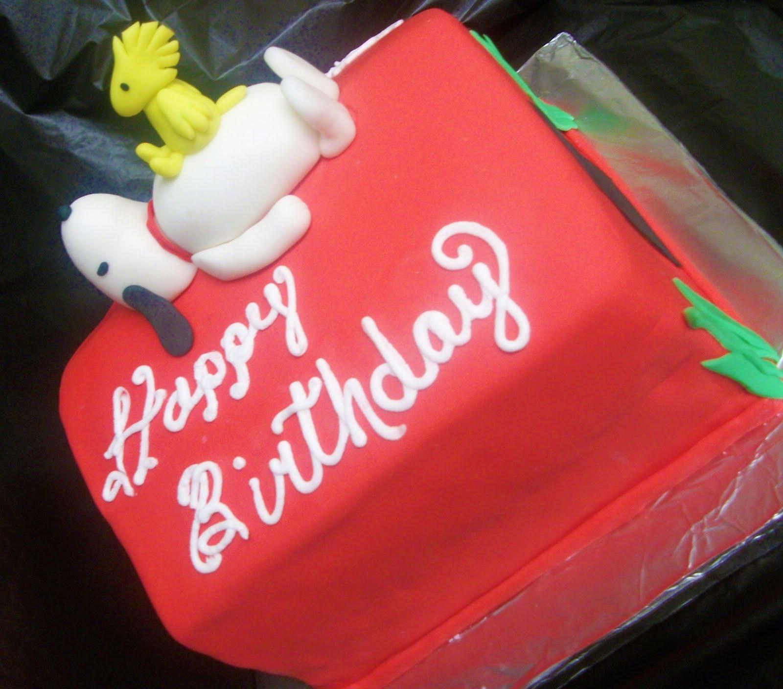Tasty Cakes Snoopy Birthday
