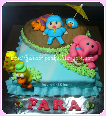 Pocoyo Cake | Where Everything Is Made With Love