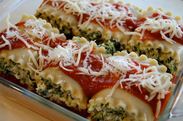 Image result for lasagna roll ups cottage cheese