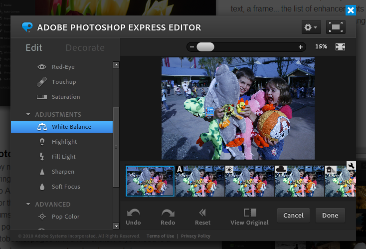 Free Adobe Photoshop Express! - Freeware Guru ! - Free Utility Software Downloads