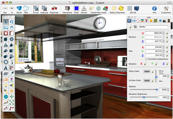 Kitchen design best kitchen design ideas Program design interior 3d free