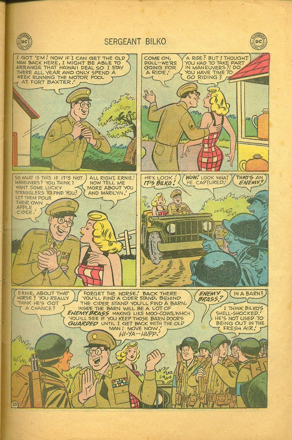 Sergeant Bilko issue 1 - Page 31