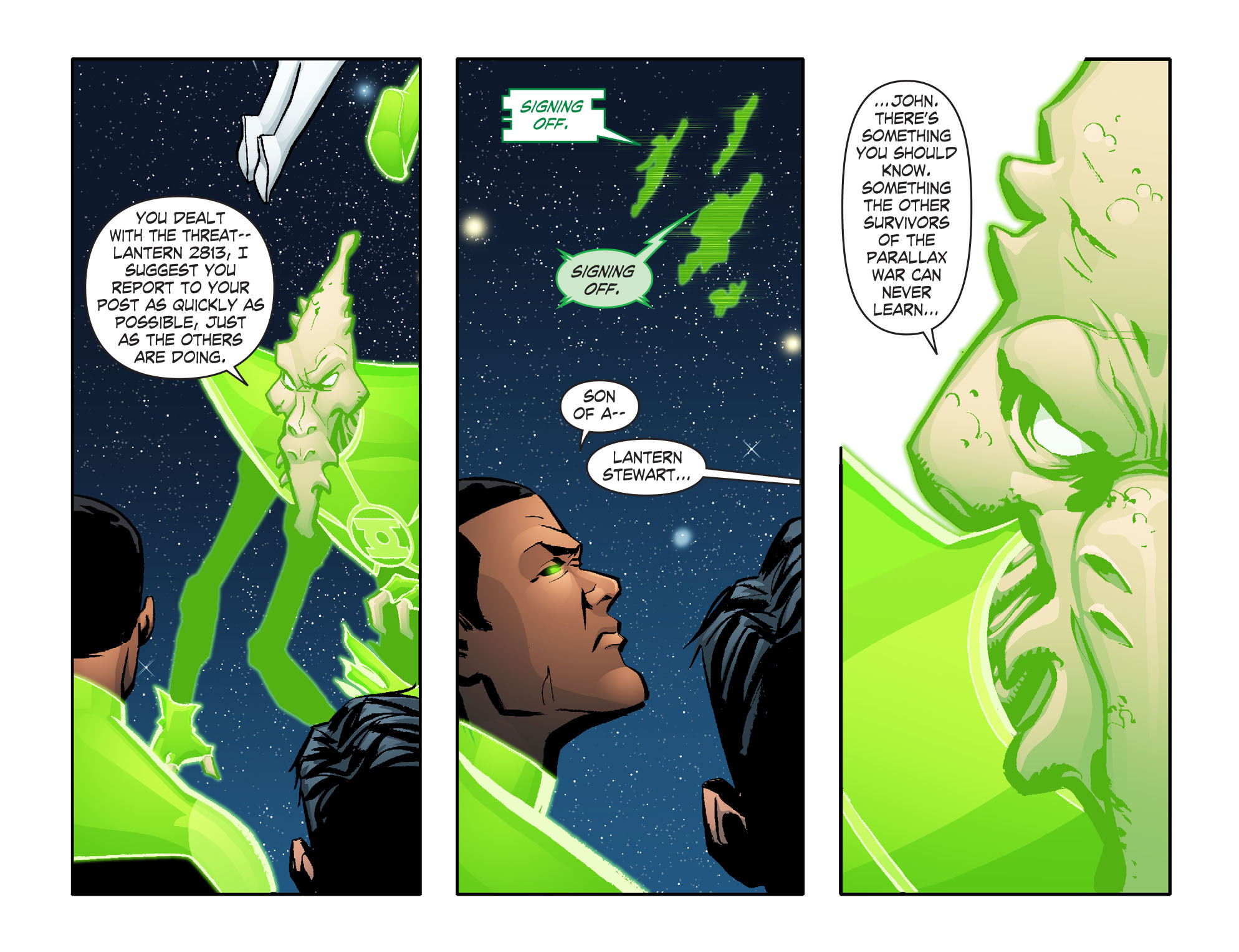 Read online Smallville: Lantern [I] comic -  Issue #6 - 8