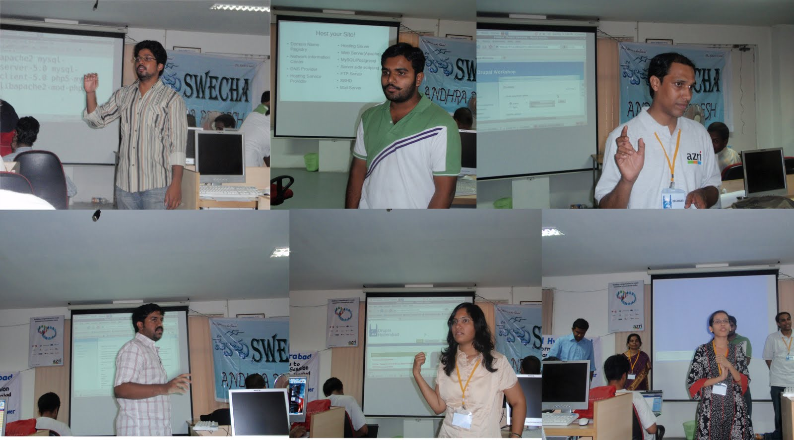 drupal-hyderabad speakers at second day