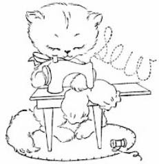 Kitty Boo Boo: Basic Embroidery Stitches