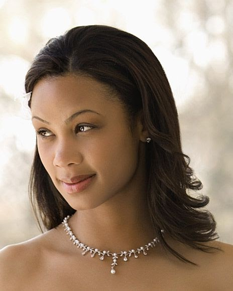 Wedding Hairstyles African American Brides: African American Wedding Hairstyles & Hairdos: Flip & Fab