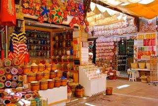 Market Aswan Egypt