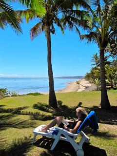 Pat Dunlap Bedarra Beach Inn Coral Coast Fiji