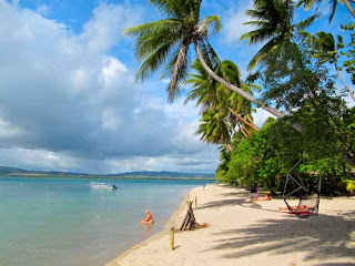 Beautiful Robinson Crusoe Island Coral Coast Fiji