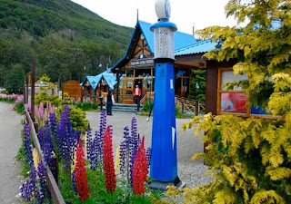 End of the World Train Station Ushuaia Argentina
