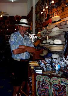 Wayne Dunlap  Panama Hat