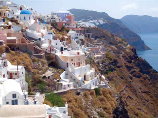 Oia Santorini Greek Islands Greece
