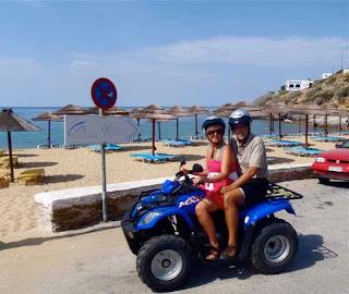 Wayne Pat Dunlap ATV Ios Greek Islands Greece