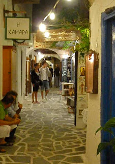 Wonderful Old Town Streets Greek Islands Greece