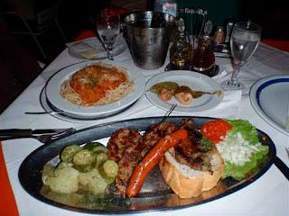 Dinner Hvar Dalmatian Island Croatia