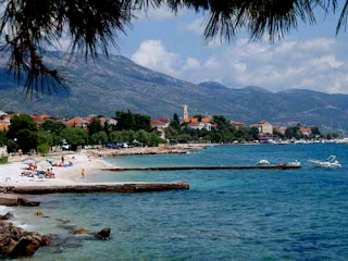 Beautiful Orebic Korcula Island Croatia