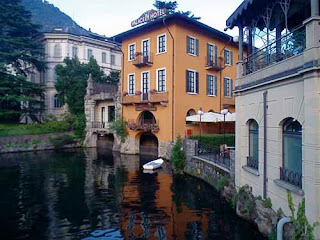 Town Como Lake Como Italy