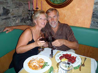 Wayne Pat Dunlap Italian Food Dinner Bellagio Lake Como Italy