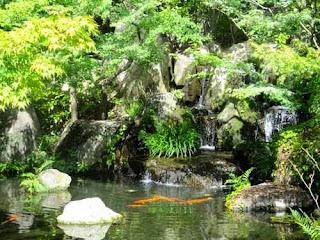 Koko-en Gardens Himeji Japan
