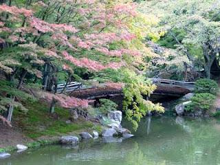 Japanese Gardens Sento Imperial Palace Kyoto Japan