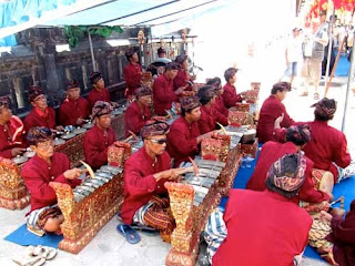 Traditional Music Band Bali Indonesia