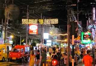 Night Life Patong Phuket Thailand