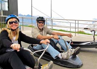 Luge Bob's Peak Queenstown New Zealand