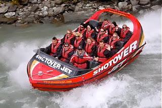 Shotover Jet Boat Queenstown New Zealand