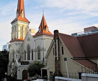 Church Home Downtown Wellington New Zealand