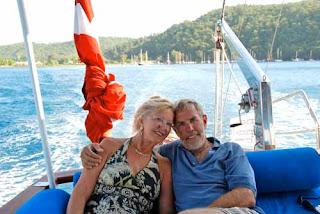 Pat Wayne Dunlap Gulet Boat Bodrum Turkey
