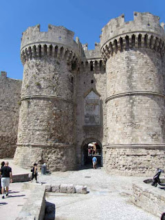 Marine Gate Rhodes Old Town Greece