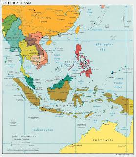 mapa sudoeste asiatico Sudeste Asiático: Mapas mapa sudoeste asiatico