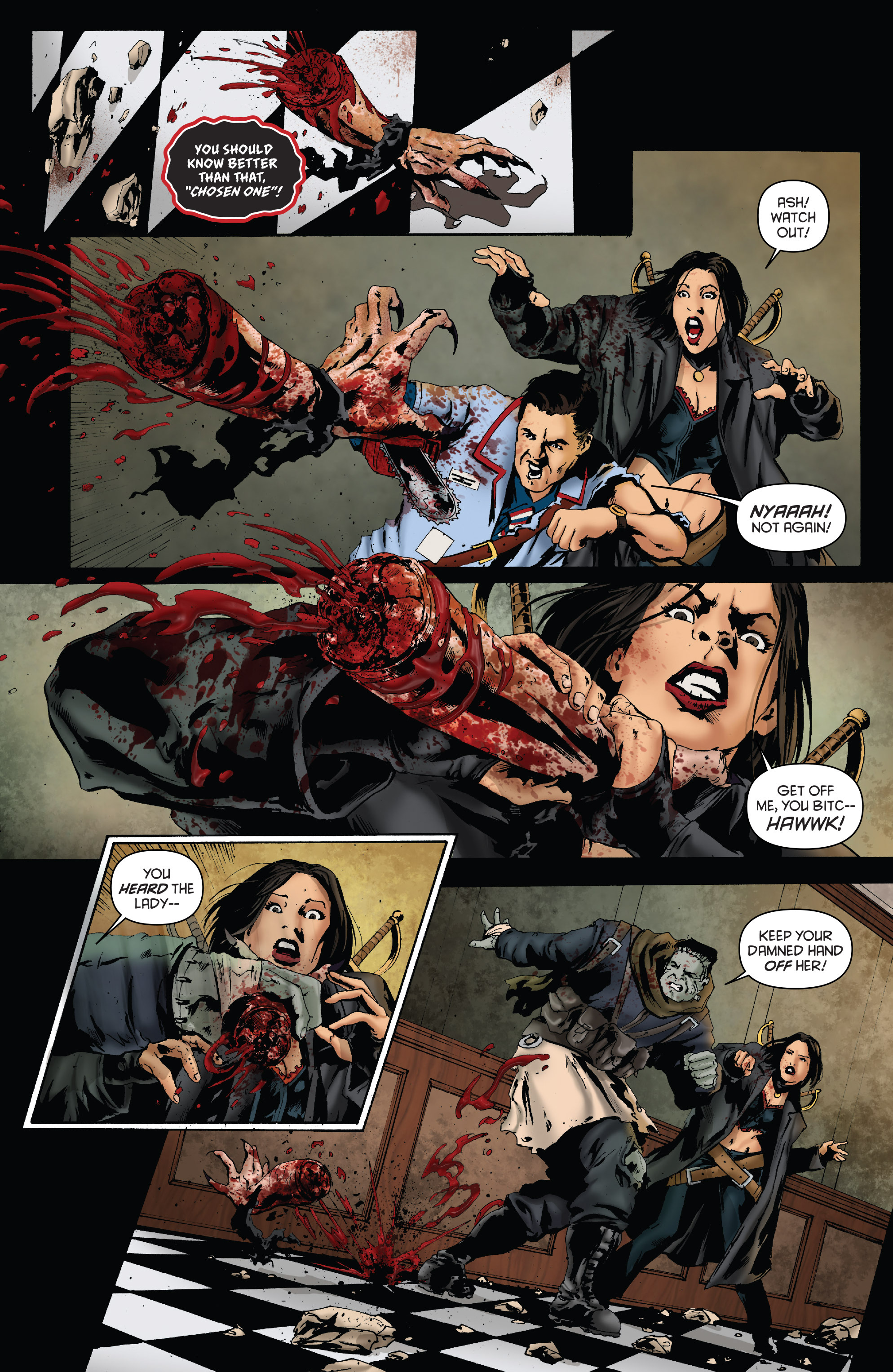 Read online Army of Darkness: Furious Road comic -  Issue #3 - 16