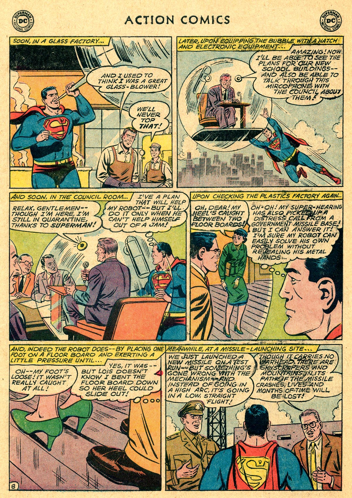 Action Comics (1938) 282 Page 9