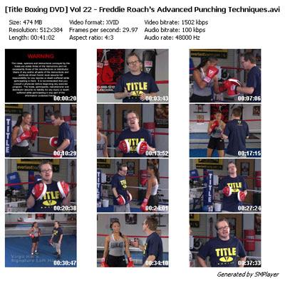 Martial Arts Wisdom: Title Boxing DVD Vol 22 - Advanced