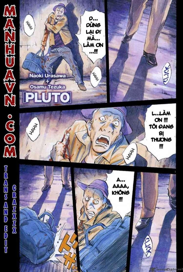 Pluto chapter 32 trang 1
