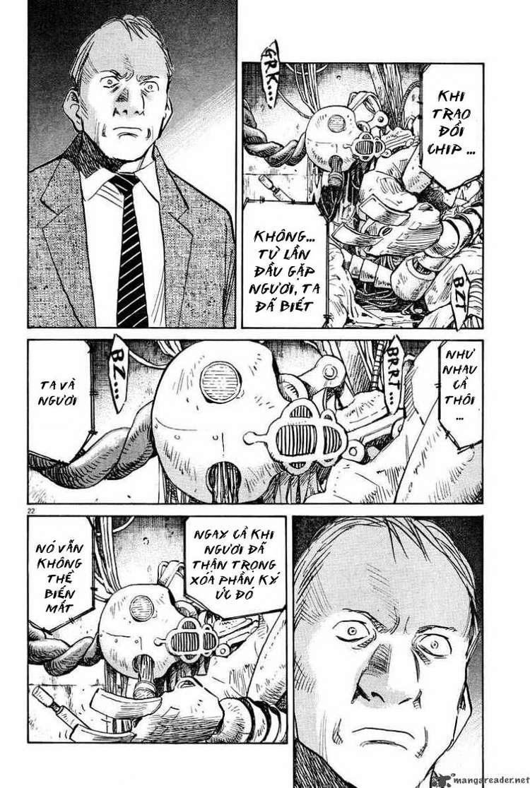 Pluto chapter 32 trang 21