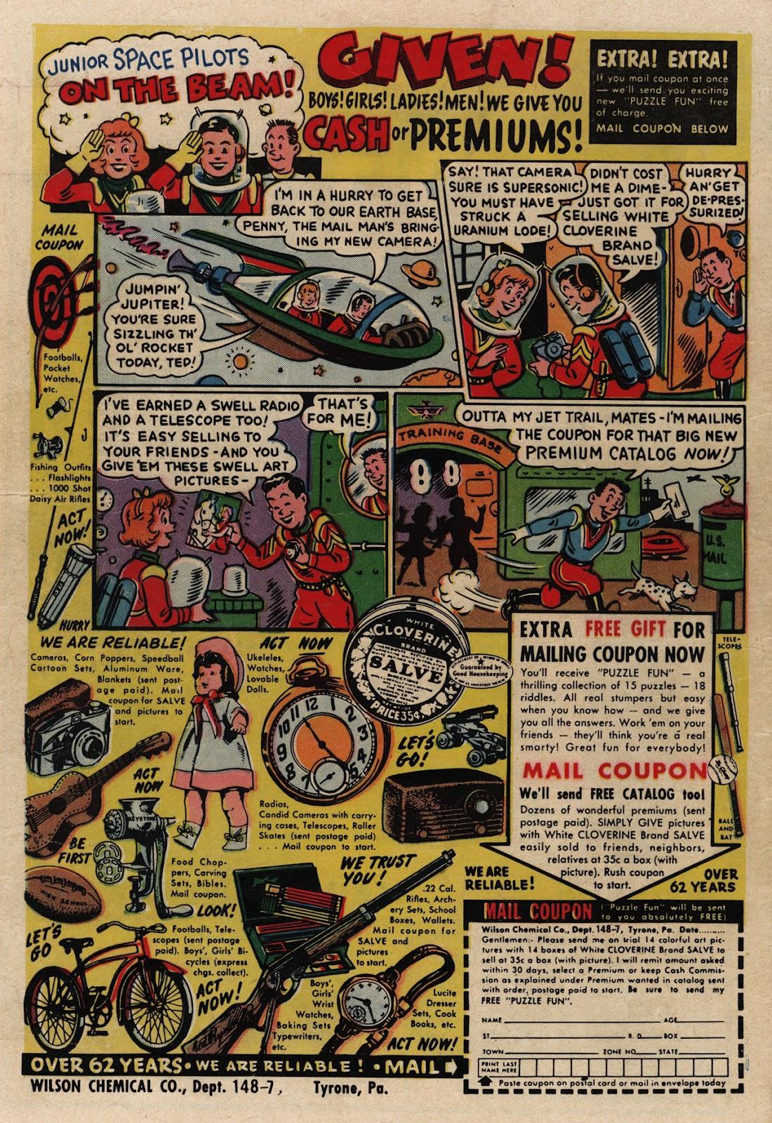 Love Romances (1949) issue 66 - Page 36
