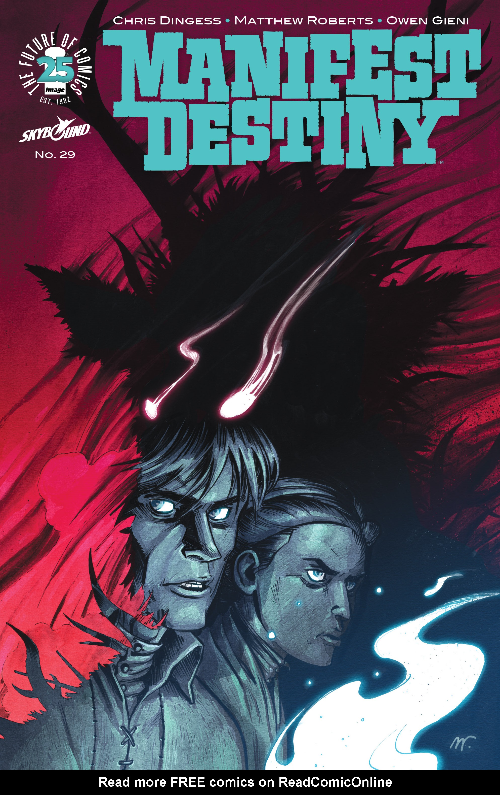 Read online Manifest Destiny comic -  Issue #29 - 1