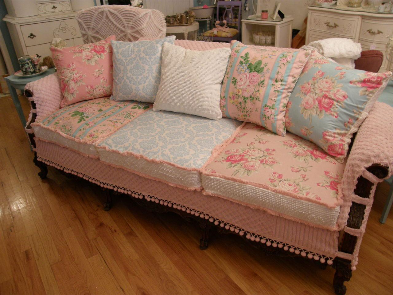 Vintage Chic Furniture Schenectady NY: my vintage chenille ...