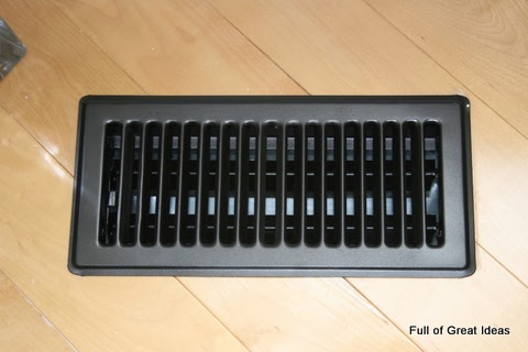 Full Of Great Ideas Spray Painted Vent Covers