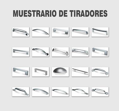 Tiradores de muebles de cocina ~ Reformas Guaita