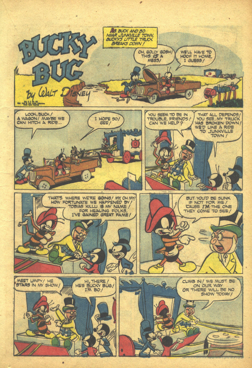 Walt Disney's Comics and Stories issue 103 - Page 21