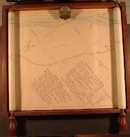 A hand-drawn map.