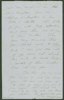 A handwritten page.