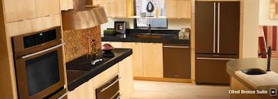 Jenn Air Oil Rubbed Bronze Kitchen Liance Suite