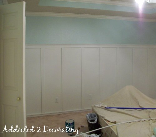 J A Master Bedroom Day 4 Painted Board Batten And A Case Of Live Learn Addicted 2 Decorating