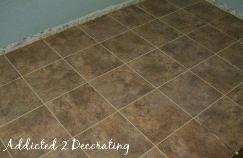 A Grouted Section
