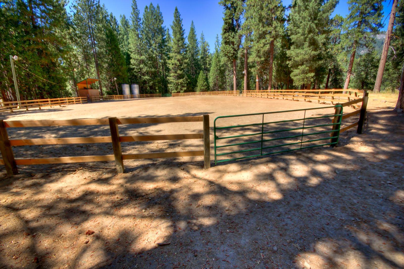 Camp Wawona News Summer Camp Staff Enlarge Horse Corral